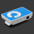 KD-MP3-51-LANSE MP3 Player w/ TF / Mini USB / 3.5mm Jack - White + Blue