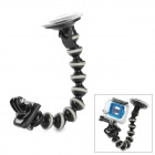"360 Degree Rotational 1/4"" Car Mount Holder w/ Suction Cup / GoPro Adapter for Camera/GoPro/SJ4000"