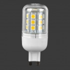 G9 5.4W 540lm 3500K 27-SMD 5050 LED Warm White Light Corn Lamp (120~265V)