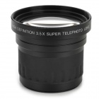 58mm 3.5X Magnification Teleconverter for Canon / Nikon - Black
