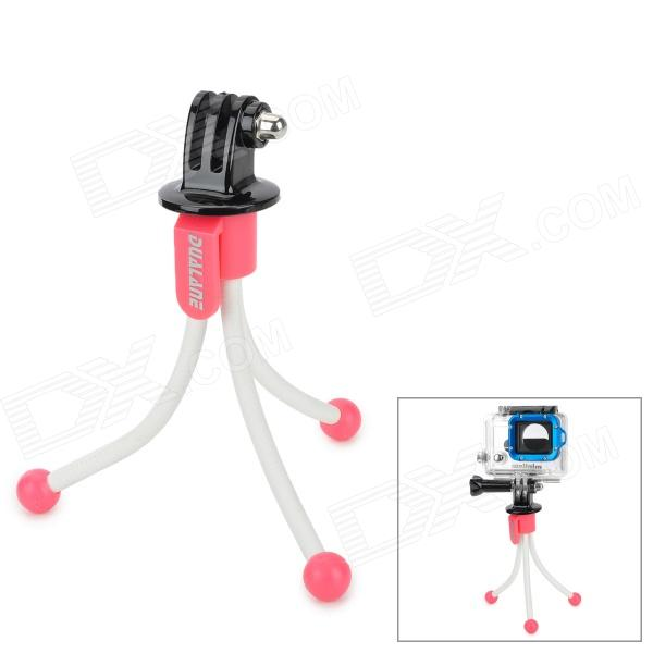 DUALANE Portable Mini Flexible Leg Tripod + Adapter for Gopro Hero 4/ / HERO 2 / HERO 3 / HERO 3 +