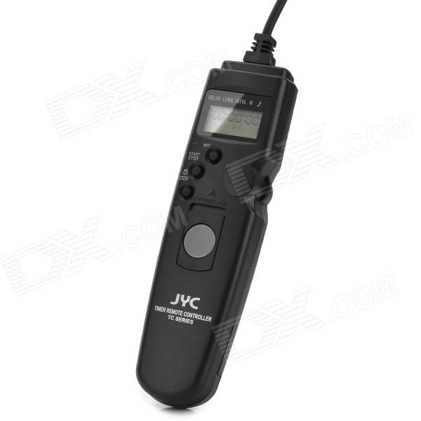 JYC TC-S1 1.0 LCD Screen Timer Remote Controllerfor Sony - Black until you