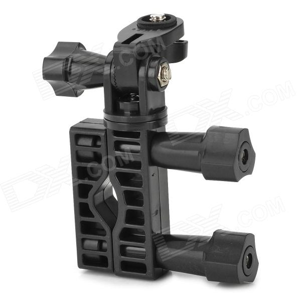 WHA1-001A Camera Support w/ M5 1/4 Crankset + 360' Rotating Station for Bike / Motorcycle