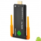 Double Antenna Quad-Core Android 4.2.2 1080p Bluetooth V2.1 Mini PC w/ MicroSD (TF) / USB