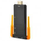 Doble Antena Quad-Core Android 4.2.2 1080p Bluetooth V2.1 Mini PC con MicroSD (TF) / USB