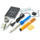 60W Portable Electric Soldering Welding Repair Tool Kit - Multicolored
