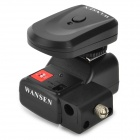 WanSen PT-04NE Universal Wireless / Radio Flash Trigger w/ Umbrella Holder for Canon / Nikon - Black
