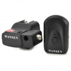 WanSen PT-04NE inalámbrica universal / Radio Flash Trigger w / Umbrella Holder para Canon / Nikon - Negro