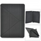 Stylish Protective PU Leather + PC Case w/ Auto Sleep for Ipad AIR - Black