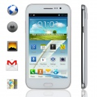 "KICCY F7102 Dual-Core Android 4.2.2 WCDMA Bar Phone w/ 5.2"" Screen, GPS and Wi-Fi - White"