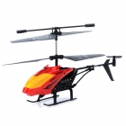 2.5-CH IR R/C Helicopter w/ IR Remote Controller - Black + Blue + Multicolored (6 x AA Battery)