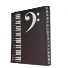 DEDO MG-34 Exquisite High Notes Music File Folder - Black