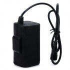 UniqueFire 8.4V 4000mAh Rechargeable Li-ion 4-18650 Battery Pack - Black