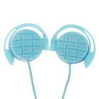 Sibyl G-3 Stylish Stereo Ear Hook Headphones - Blue (3.5mm Plug / 114cm-Cable)