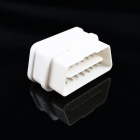 Super Mini iCar2 Bluetooth Vehicle OBD-II Code Diagnostic Tool - White