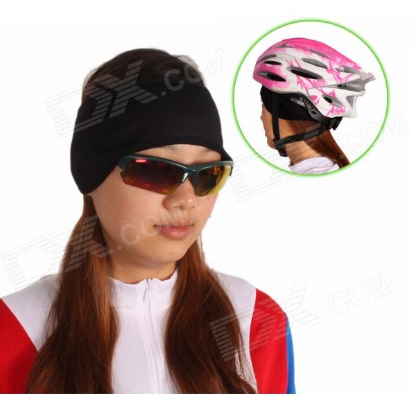 SAHOO Cycling Wind Proof Keep Warm Outdoor Earmuff Band - Black (XL)