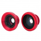 Universal 3-in-1 180' Fisheye Wide Angle + Macro Lens w/ Clip for Iphone / Cellphone / Tablet PC