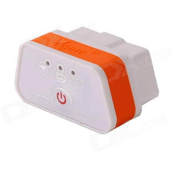 BTwifi iCar ELM327 Wi-Fi OBD2 Car Diagnostic Tool - Orange + White