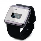 "1.0"" Screen Silicone Band Bluetooth Wrist Watch w/ Receiving and Dial Call Function"