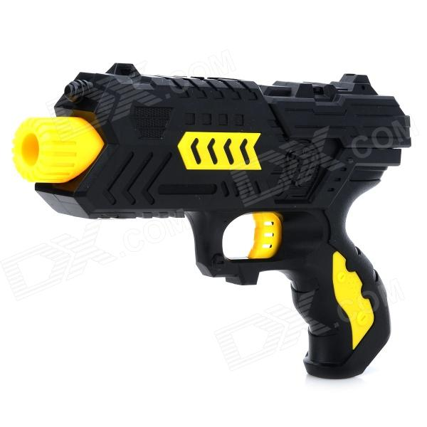 M02 Cool PC BB Guns Toy + Sponge Bullets Set - Black + Yellow