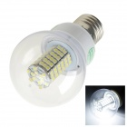 E27 7W 220lm 6500K 138 x SMD 3528 LED White Energy Saving Light Bulb - (AC 220~240V)