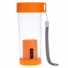 EYKI H5017 High-quality Leak-proof Bottle w/ Filter + Strap - Orange (350ml)