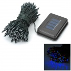 Waterproof Solar Power 2W 200-LED Colorful Light-operated Decoration String Lamp