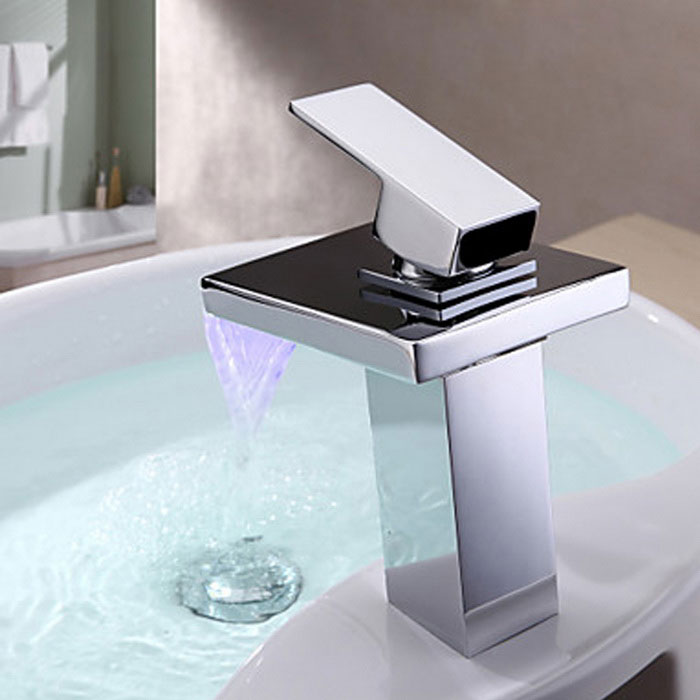 Bathroom Sink Quality ydl-f-0527 high quality contemporary led rgb color changing