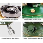 BRS BRS-29B Outdoor Free Pre-Heating Gas Stove