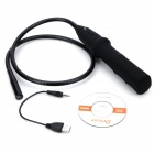 1,3 mm a prueba de agua CMOS Endoscopio flexible w / Wi-Fi / 4-LED para Móviles Android / Iphone - Negro