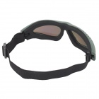 SW2088 Tactical Windproof Eye-Proteção Goggles - Exército Verde