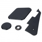 Plastic Electric Guitar LP Protective Set - Black (4PCS)