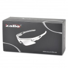 KALLO JS-600112 Outdoor Sport UV400 Protection Polarized Goggles - Black