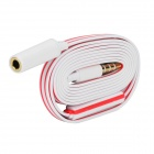 3.5mm Jack Male to Female Microphone Extension Cable - Red + White (105cm)