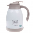 JINFENG 72 Vacuum Pot Stainless Steel Bottle - White + Grey (1200mL)