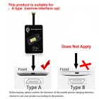 Universal Qi Wireless Receiver Module w/ Micro USB - Black
