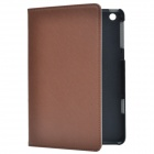 Stylish Protective PU Leather Case Cover Stand for Retina Ipad MINI - Coffee
