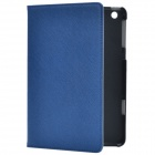 Stylish Protective PU Leather Case Cover Stand for Retina Ipad MINI - Blue