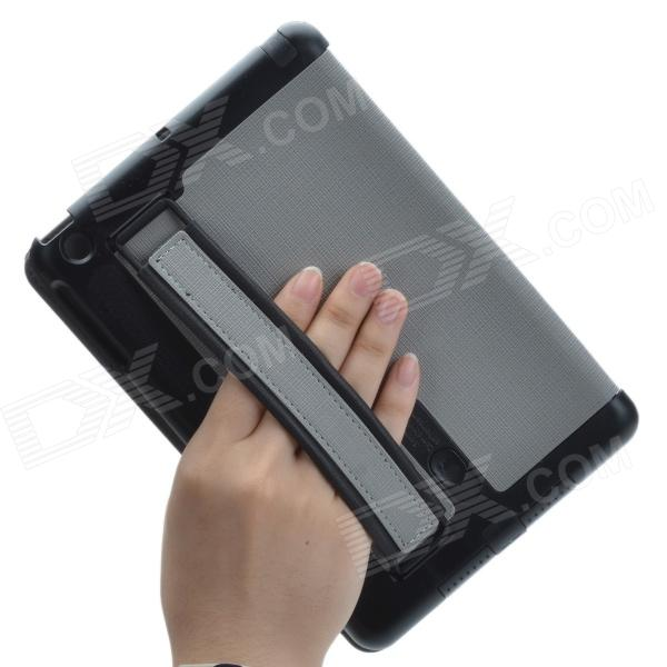 Stylish Protective PU Leather Case Cover Stand w/ Hand ...