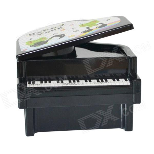 DEDO MG-127 Kids Money Pot Piano Money Pot Suitable for Kids Gift - Black piano books for the young musician