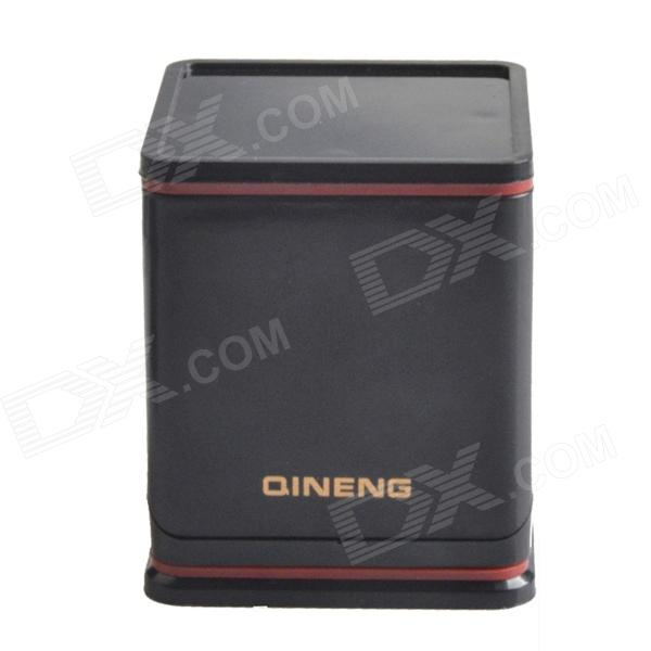 все цены на  QINENG HH-084 360 Degree Rotation Cube Holder for Iphone / Samsung / / HTC + More - Black + Red  онлайн