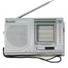 Kaide KK-10 Mini Digital Radio FM / AM SW1~7 Receiver - Black + Silver (2 x AA)