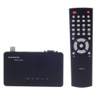 GADMEI TV2810E XGA TV Box w/ Horn & FM Radio for CRT / LCD Display Device - Black