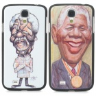 Nelson Rolihlahla Mandela Memorial Edition Protective Back Case for Samsung i9500 - Multicolored
