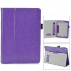 Protective Flip Open PU Fall w / Tragegriff für Ipad AIR - Deep Purple