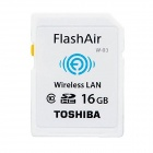 TOSHIBA FlashAir SDHC CL10 16GB Wifi Card