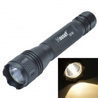 HUGSBY S3 9V 1.2A 300lm Memory Xenon Flashlight & Mount Kit Set - Black (3 x CR123A)