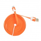 USB 2.0 Daten-/ Ladekabel für Amazon Kindle Touch / 3/4 / Kindle Fire / Feuer HD - Orange (300CM)