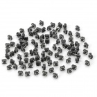 Replacement Trigger No-Lock Reset Tactile Pushbutton Switch - Black (100 PCS)