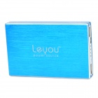 "LEYOU LY-980 ""12800mAh"" Power Bank External Battery Charger for Cell Phone / Tablet PC - Blue"